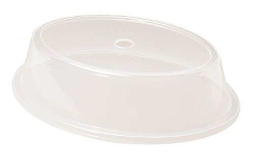 G.E.T. Enterprises CO-96-CL Plate Covers for Oval Plates (QTY, 12), Polypropylene, Clear (Pack of 12)
