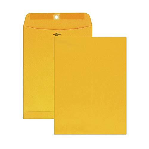 Mead Brown Kraft Envelopes, Clasp, 6