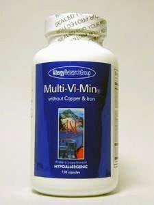Multi-Vi-Min without Copper & Iron 150 Veg Capsules For Sale
