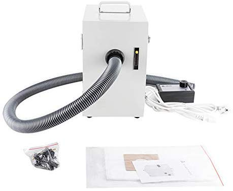 Doc.Royal JT-26 Single-Row Digital Dust Collector Artificer Room Vacuum Cleaner 370W for Dental Laboratory, Industry
