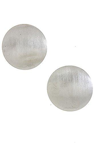 Coral Disc Earrings - 8