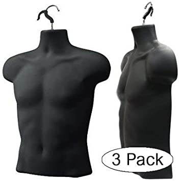 Upper Male Torso Form Black Fivе Расk