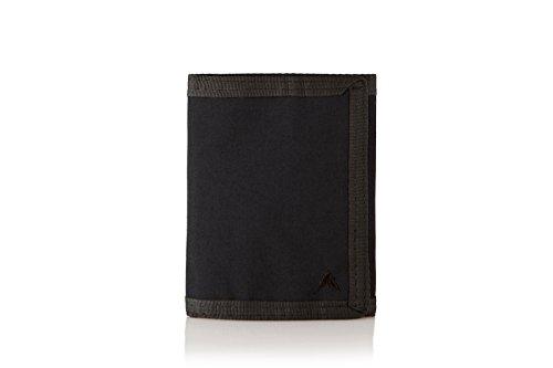 Nylon Switchback Wallet (Black)