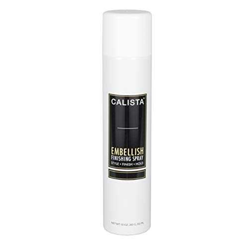 Finishing Spray Hair Spray - Calista Tools Embellish Volume Finishing Spray, Volumizing Spray, Dry Hair Styling, For All Hair Types, 10 oz.