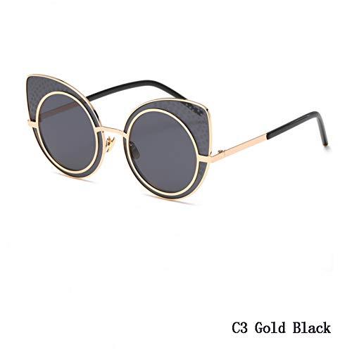 Populaires Pour Eyewares Soleil Lunettes Femmes Haute Cat C3 De Qualité Retro Rondes Wzymntyj Eye IUw4qC