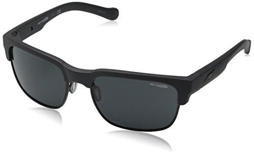 Arnette Dean AN4205-03 Rectangular Sunglasses, Grey, 58 - Sunglasses Dean