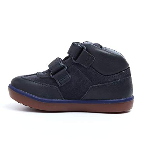 (Camper Childrens Pursuit K900115 - Navy 002 (Leather) Childrens Trainers 7.5 US )