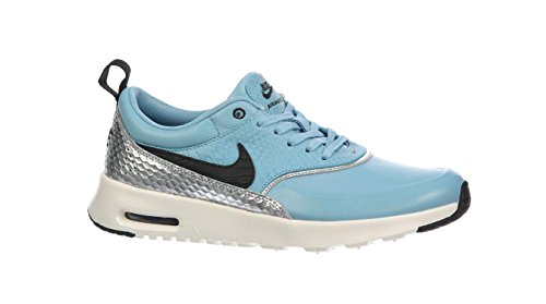 Azul Zapatillas Para Piel De Mujer Nike Claro c4W66