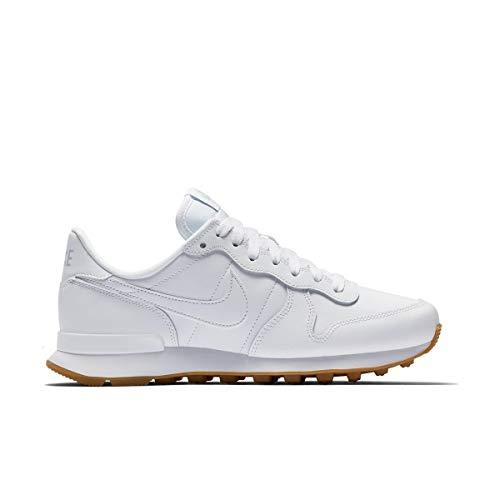 Internationalist white Light white Nike Multicolore De Fitness gum 103 Wmns Femme Brown white Chaussures 5qnqHxSRw0