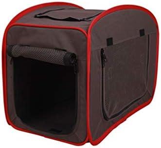 囲碁ペットクラブソフトクレートバッグ、犬と猫のためのペット用ケーブ/ベッド、ポータブル屋内ペットハウスキャットハイドアウト、グレー、ブラック (色 : Gray, サイズ さいず : L l)