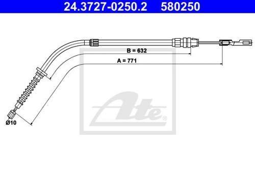 Delphi TC427 Stabilliser Rod