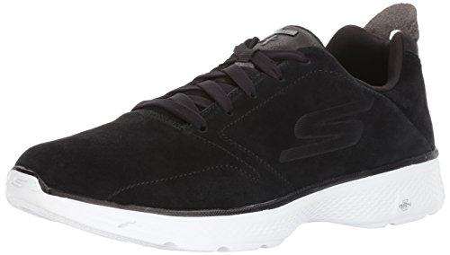 Les Hommes Skechers Vont Marcher 4 Chaussures De Course, Noir (noir) / Blanc