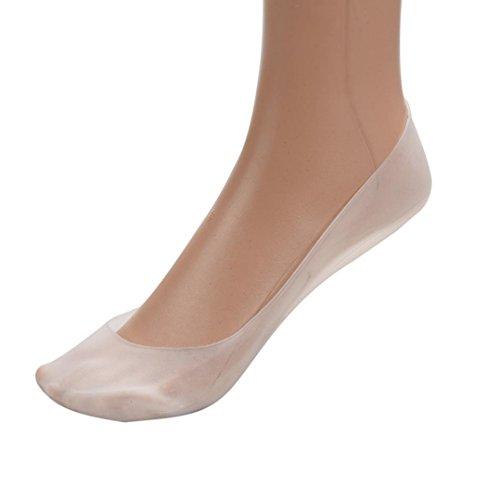 Full Foot Stocking (Gotd Liner Socks Full Length Silicone Gel Moisturizing Sock Foot Care Protector)