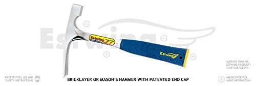 Bricklayer or Mason's Hammers - mason's hammer 24 oz.with end (24 Oz Masons Hammer)