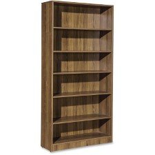 (Lorell 69973 6-Shelf Bookcase, 36