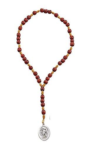 Saint Michael Chaplet Rosary Cherry product image