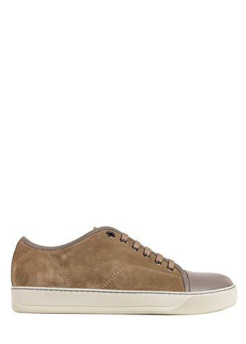 LANVIN Mens Tan Brown Suede Lace Up Sneakers Size UK5/US6~RTL$560 (Lanvin Shop)
