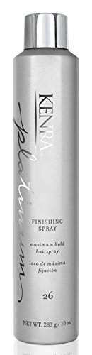 Finishing Spray Hair Spray - Kenra Platinum Finishing Spray #26, 55% VOC, 10-Ounce