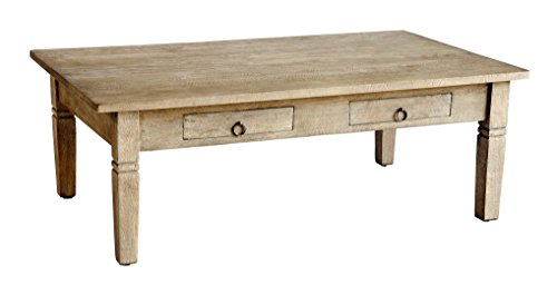 Casual Elements Sedona Rectangular Coffee Table, Rustic Mango Gray (Sedona Rectangular Cocktail Table)