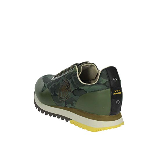 Sneakers Foncé Blauer Vert Homme Denver02 pwUqUcI5T