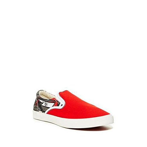 Bucketfeet Mens Windy City Canvas Slip-On 10