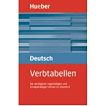 Amazon max hueber verlag books hueber dictionaries and study aids verbtabellen deutsch als fremdsprache paperbackgerman fandeluxe Image collections