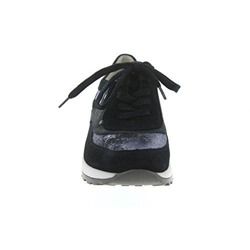 De Lacets Chaussures Femme Ville À Pour Hiroko Bleu Waldläufer xXTEwqCF4W