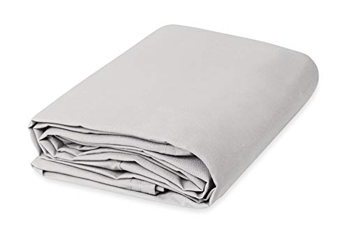 - Cotton Canvas Drop Cloth (10' x 12', White)