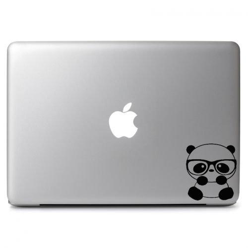 Panda Vinyl (Panda Nerd Vinyl Sticker Skin Decal, Die cut vinyl decal for windows, cars, trucks, tool boxes, laptops, MacBook - virtually any hard, smooth surface)