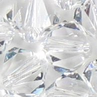 Swarovski Crystal Bicone 5301 / 5328 6mm CLEAR Beads (20) ()