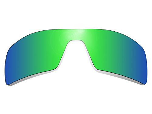 Glintbay Harden Coated Replacement Lenses for Oakley Oil Rig Sunglasses - Polarized Green - Oil Lens Polarized Rig