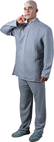 Disguise Costumes Men's Dr Evil Costume Dlx One Size