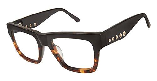 L.A.M.B. Women's LA 030 Black Tortoise 49mm Eyeglasses, Size 49-20-140 B40