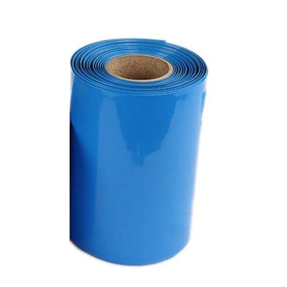 DEE FIVE 110mm Lay Flat Width and Length 10mts PVC Heat Shrink Tube/Sleeve