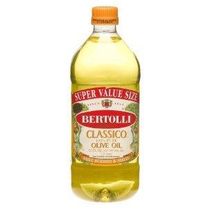 Bertolli Classico 100%% Olive Oil Bottle, 51 OZ (Pack of 6)