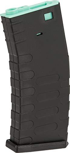 Evike APS 300rd Hi-Capacity Magazine for M4 / M16 / UAR Series Airsoft AEG Rifles (Model: U-Mag/Turquoise Core)
