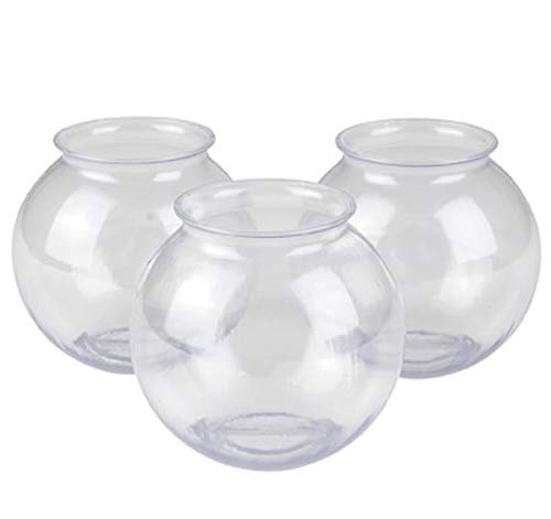 Rhode Island Novelty 16oz Plastic Ivy Bowls | Set of 12 (Glass Bowl Carnival Punch Set)