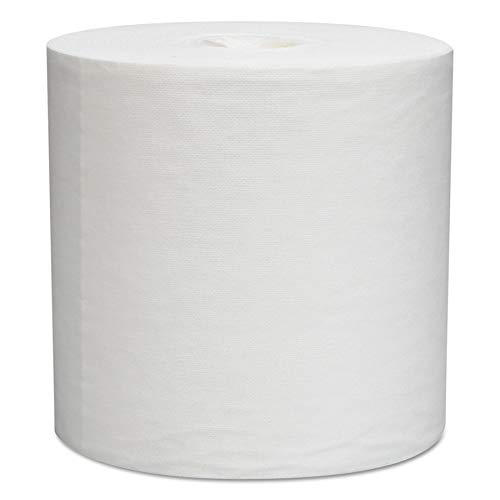 WypAll 05820 L30 Towels, Center-Pull Roll, 9 4/5 x 15 1/5, White, 300 per Roll (Case of 2 Rolls) (Wypall L30 Roll Wipers)