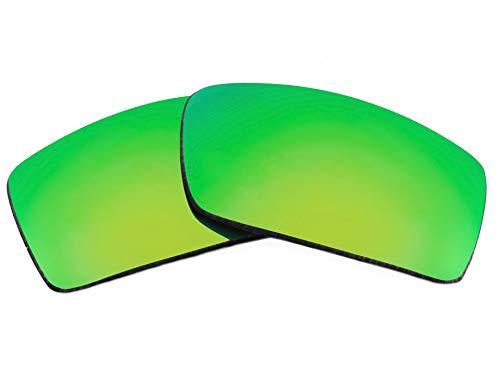Replacement Lenses Compatible with OAKLEY Gascan Polarized Green Mirror ()