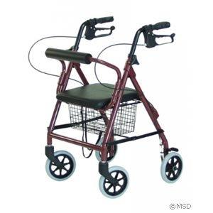 Amazon.com: Walkabout Junior cuatro ruedas Andador: Health ...
