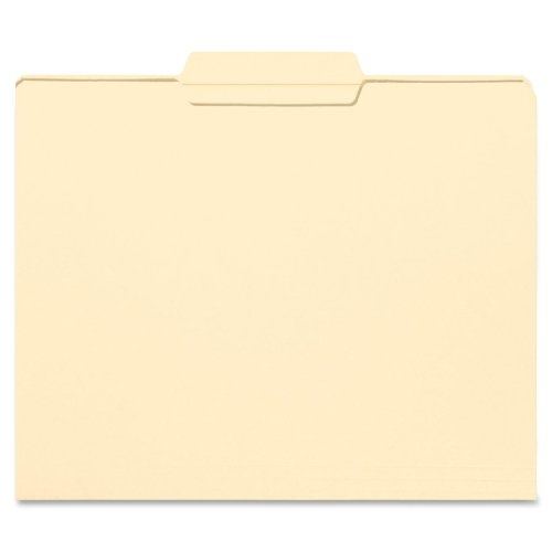 Wholesale CASE of 10 - Smead 1/3 Cut Manila File Folders-File Folders, 1/3 Center Tab Cut, 2 Ply, Letter, 100/BX, MLA