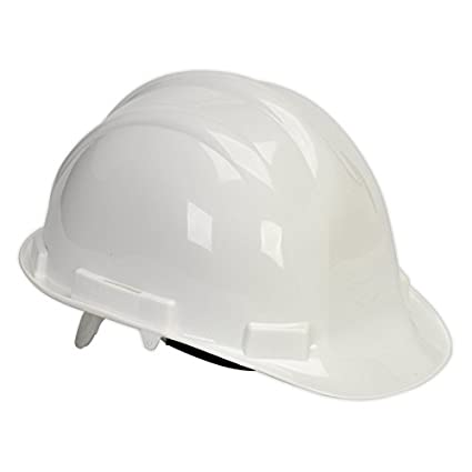 Sealey ssp17 W casco de seguridad, color blanco