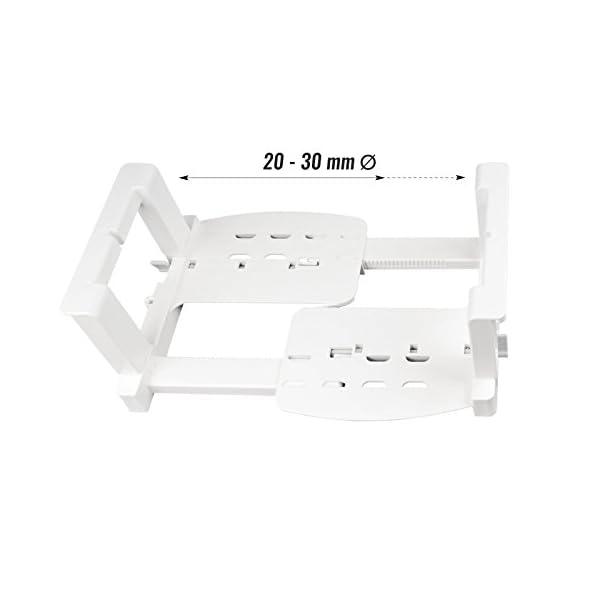 31O5Hsj5JcL Froli Tellerhalter Wohnmobil Wohnwagen, 6 Teller Geschirrhalter, Kunststoff, Tellergrößen zwischen 200-300 mm (1)