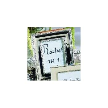 f885cbaeab43 Silver Celebrations Mini Photo Frame Place Card Holder 10 Piece Favor Set  for Wedding Reception Tables