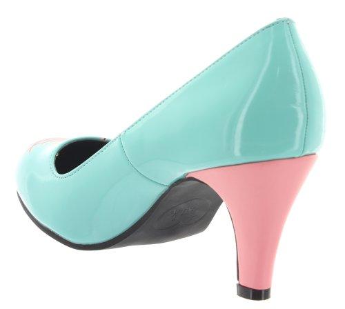 u k Turquoise T Pour Escarpins Femme PCq6xzSwF