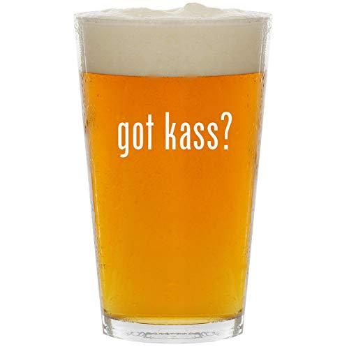 got kass? - Glass 16oz Beer Pint ()
