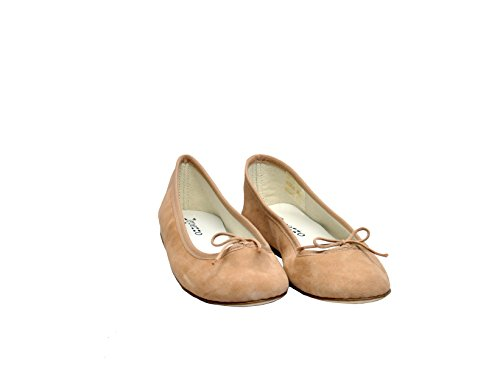 Repetto Damen V086VCCEDRILLON Rosa Wildleder Ballerinas