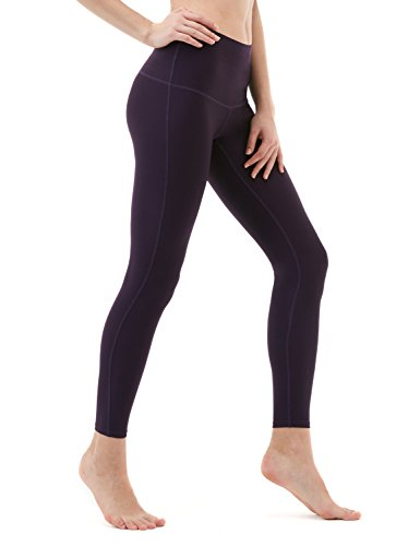 TM-FYP52-DVT_X-Large Tesla Yoga Pants High-Waist Tummy Control w Hidden Pocket FYP52