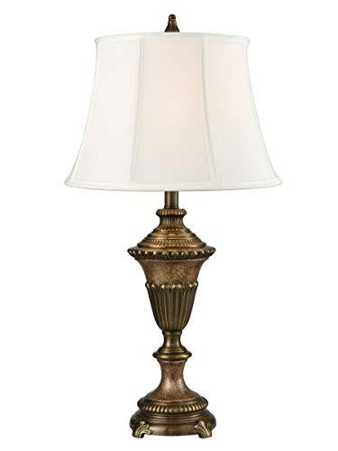 Springdale by Dale Tiffany SPT16166 Ethana Cast Metal Table Lamp Multi Bronze ()