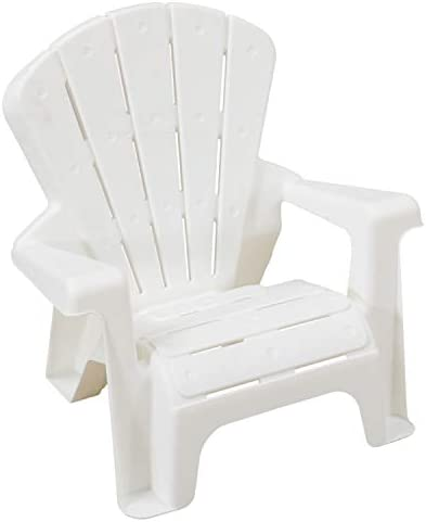 AMAZON BASICS INDOOR AND OUTDOOR PLASTIC TODDLER CHAIRS – 4 PACK, WHITE